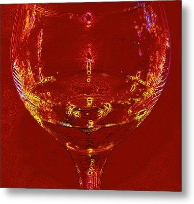 Chardonnay Metal Print