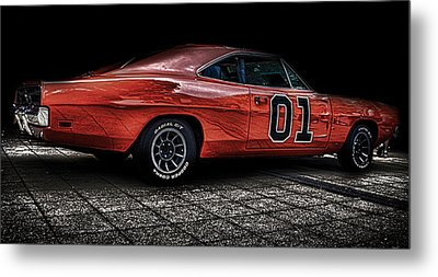 Charger Metal Print by Martin Newman