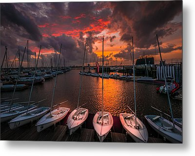 Metal Print featuring the photograph Charleston Harbor by RC Pics