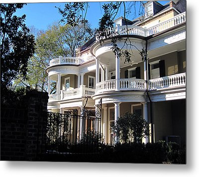 Charlestons Beautiful Architecure Metal Print by Susanne Van Hulst
