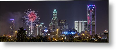 Charlotte Celebration Metal Print by Brian Young