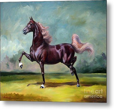 Charmed And Bewitched Metal Print by Jeanne Newton Schoborg