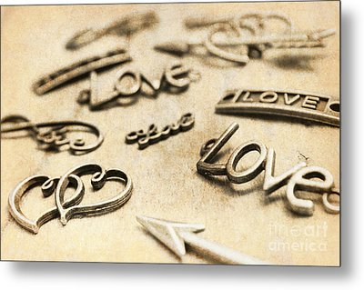 Charming Old Fashion Love Metal Print
