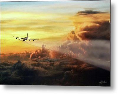 Chasing Twilight Metal Print