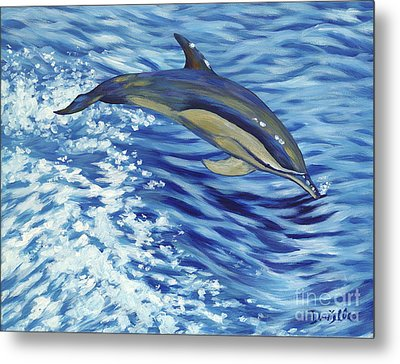 Chasing You Metal Print by Danielle  Perry