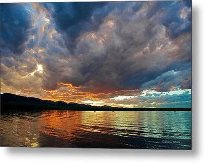 Chatfield Technicolor Sunset Metal Print