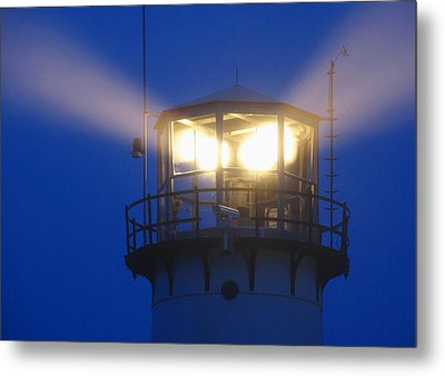 Chatham Light Metal Print by Juergen Roth