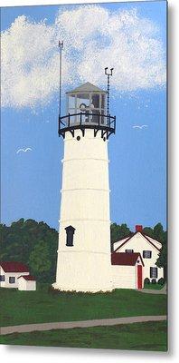 Chatham Lighthouse Tower Metal Print by Frederic Kohli