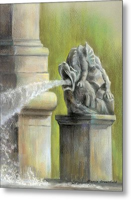 Chatsworth Gargoyle Metal Print