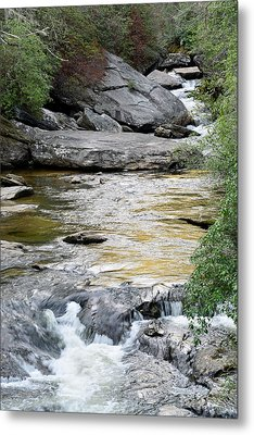 Chattooga River In Sc Metal Print by Bruce Gourley