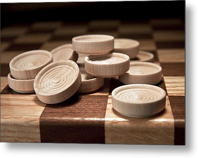 Checkers IIi Metal Print by Tom Mc Nemar