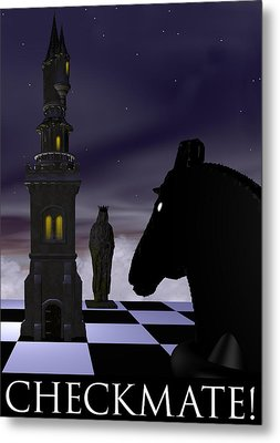 Checkmate Metal Print by David Griffith