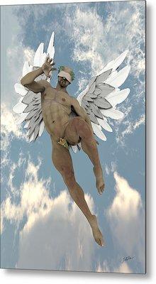 Cheerful Angel Metal Print by Joaquin Abella