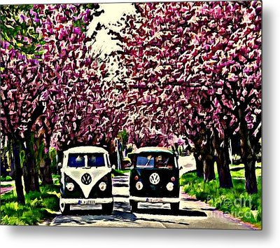 Cheery Blossom Metal Print by S Poulton