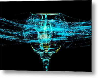 Cheese And Wine 2 Metal Print by Marnie Patchett