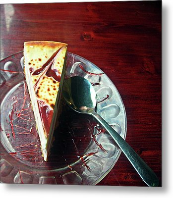 Metal Print featuring the photograph Cheesecake by Michael McKenzie