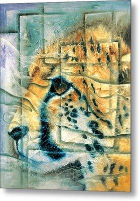 Cheetah Metal Print by Naza