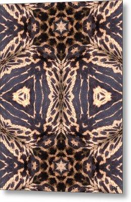 Cheetah Print Metal Print by Maria Watt