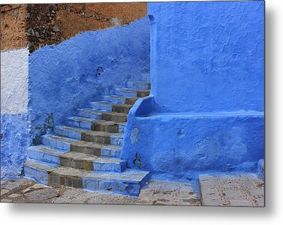 Metal Print featuring the photograph Chefchaouen by Ramona Johnston