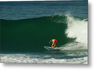 Chelsea Roett Surfer Girl Metal Print by Waterdancer
