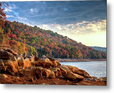 Metal Print featuring the photograph Cherokee Lake Color II by Douglas Stucky