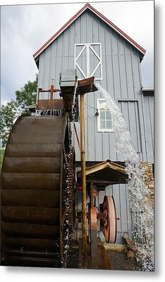 Cherokee Mill Metal Print by Laurie Perry