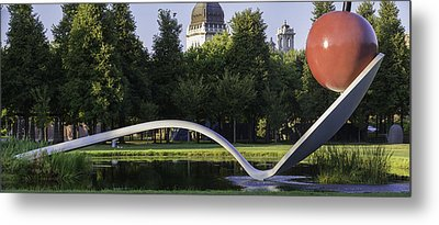 Cherry And The Spoon Panorama Metal Print