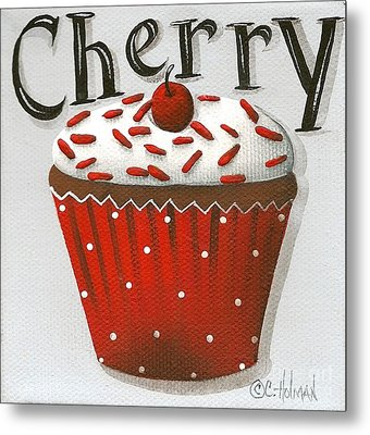 Cherry Celebration Metal Print by Catherine Holman