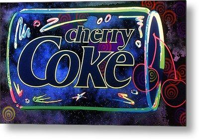 Cherry Coke 2 Metal Print by John Keaton