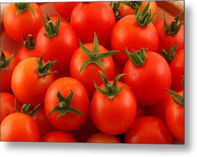 Cherry Tomatoes Fine Art Food Photography Metal Print by James BO  Insogna