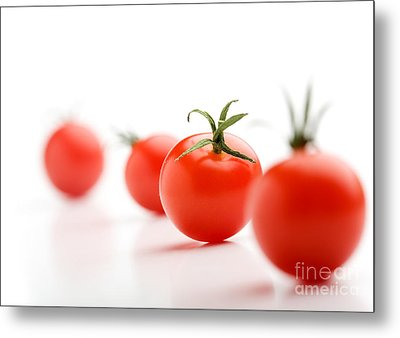 Cherry Tomatoes Metal Print by Kati Molin