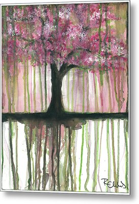 Fruit Tree #3 Metal Print by Rebecca Childs