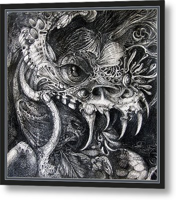 Cherubim Of Beasties Metal Print by Otto Rapp
