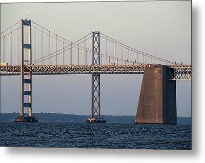 Chesapeake Bay Bridge - Maryland Metal Print