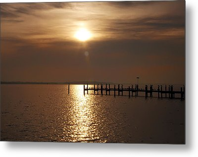 Chesapeake Morning Metal Print by Bill Cannon