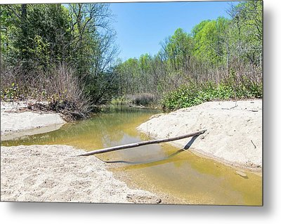 Metal Print featuring the photograph Chesapeake Tributary by Charles Kraus