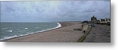 Chesil Beach November 2013 Metal Print