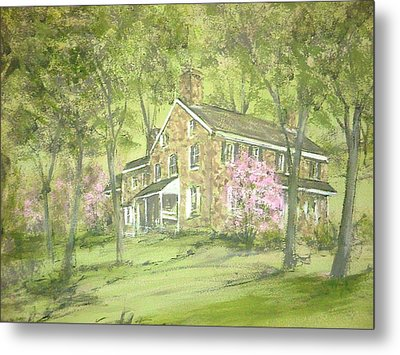 Chester Springs Metal Print by David Bruce Michener