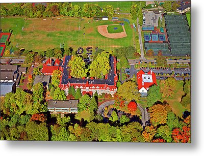 Chestnut Hill Academy 500 West Willow Grove Avenue Metal Print by Duncan Pearson