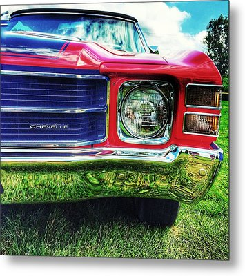 Chevelle Metal Print by Jame Hayes