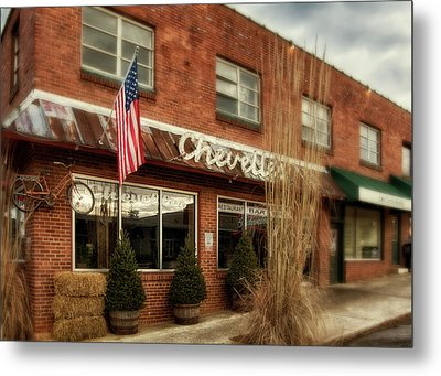 Metal Print featuring the photograph Chevells by Greg Mimbs