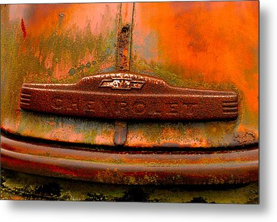 Chevorlet Truck Metal Print by Craig Perry-Ollila