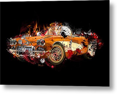 Chevrolet 2 Metal Print by Mark Ashkenazi