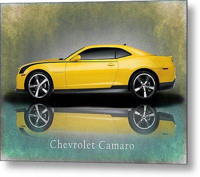 Chevrolet Camaro Metal Print