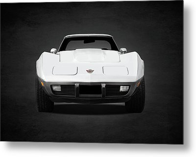 Chevrolet Corvette Sting Ray Metal Print by Mark Rogan