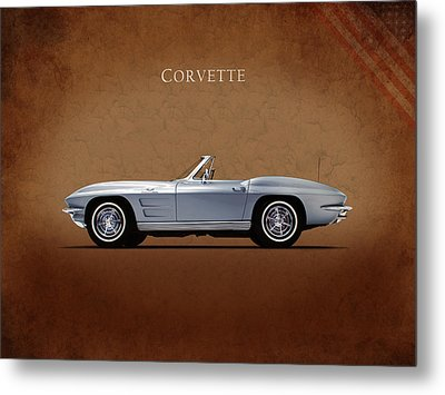Chevrolet Corvette Stingray 327 Metal Print