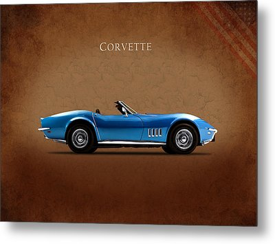 Chevrolet Corvette Stingray Metal Print by Mark Rogan