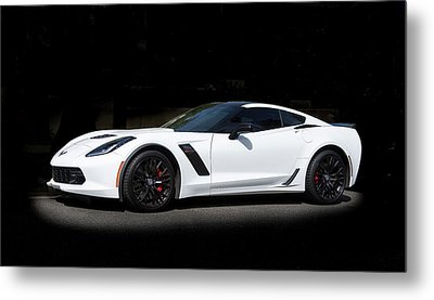 Chevrolet Corvette Z06 - 2017  Metal Print