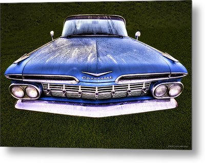 Chevrolet Metal Print by Jerry Golab