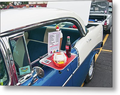 Chevy 2046 Metal Print by Guy Whiteley
